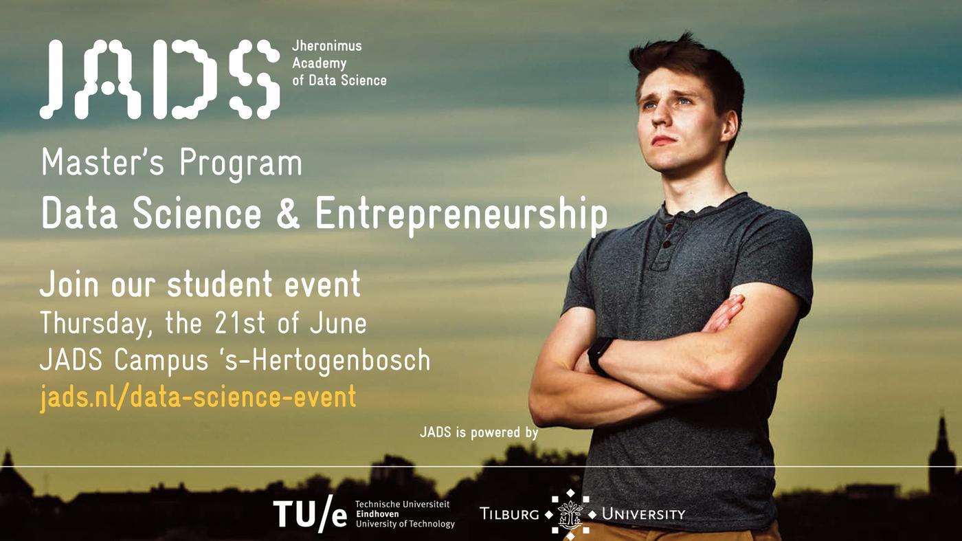 *sponsored* JADS Master Program Event