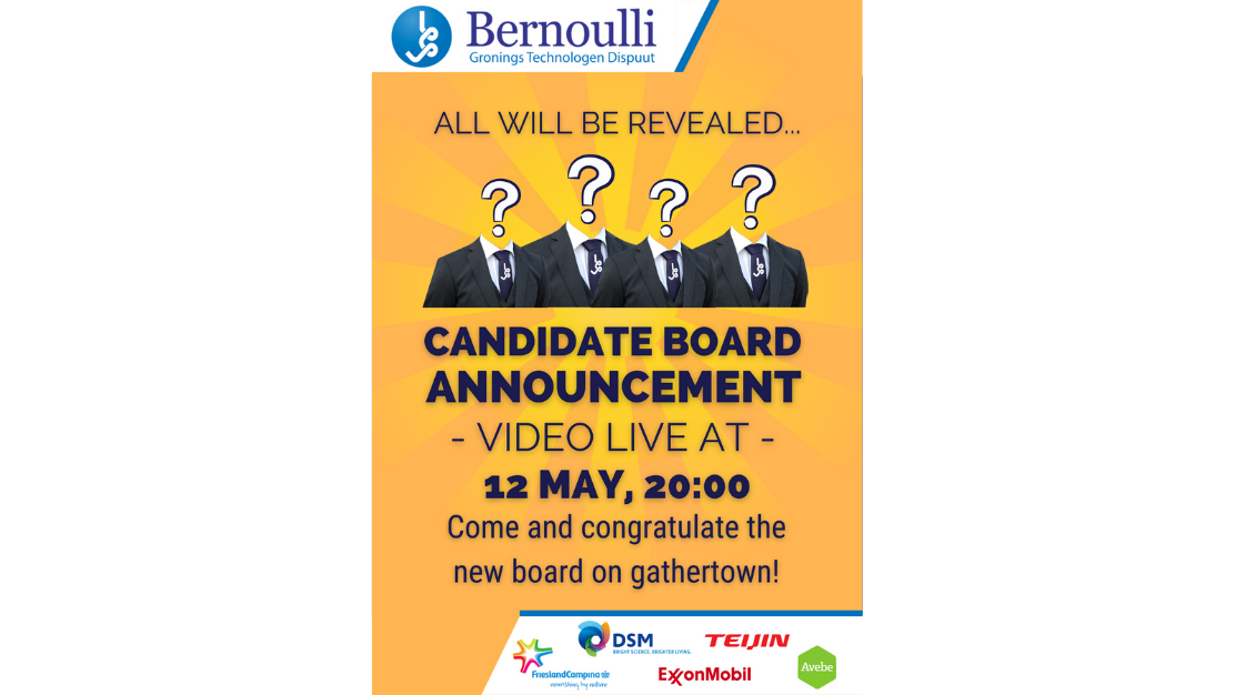 Candidate Board Announcement