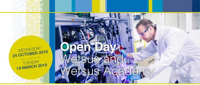 *Sponsored* Open Day Wetsus
