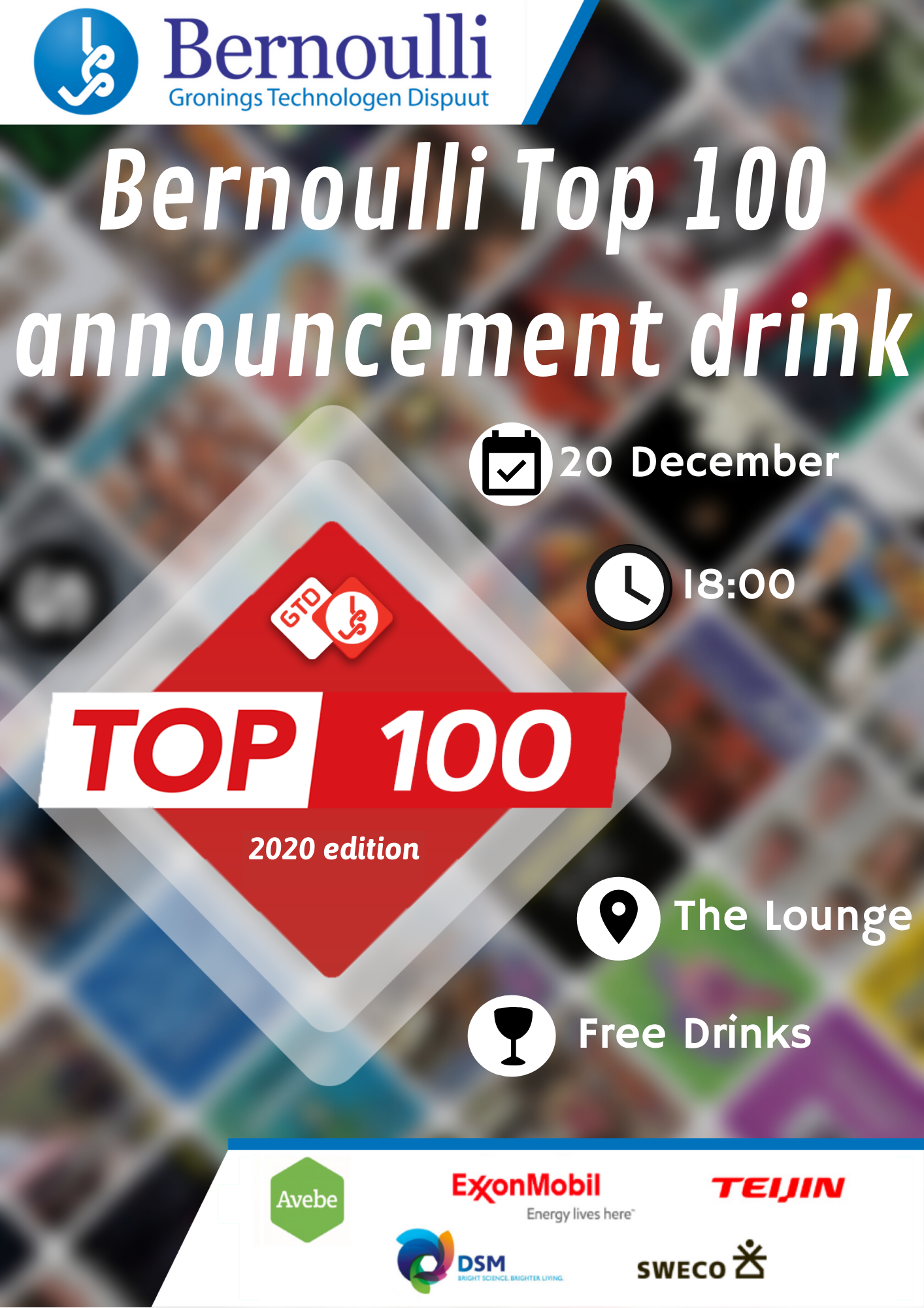 Top 100 Announcement Drink