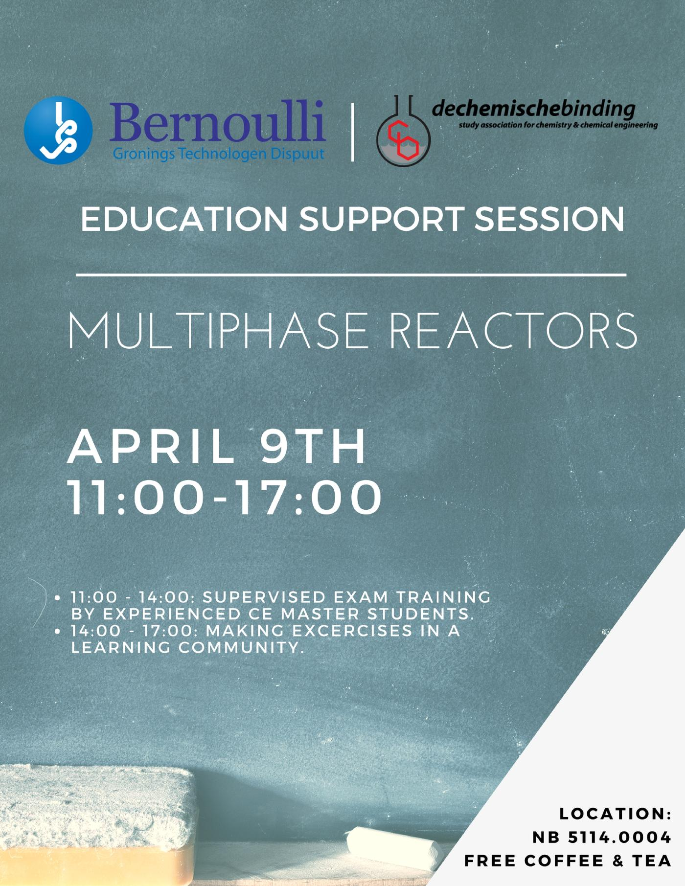 Education Support Session Multiphase Reactors