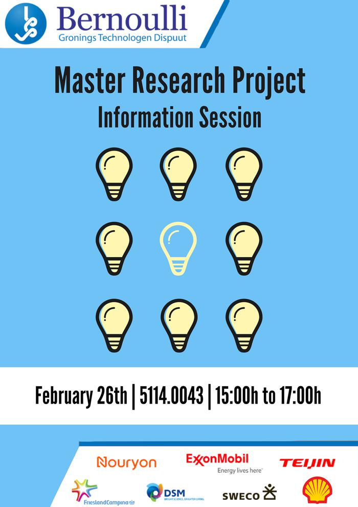 Master Research Project Information Session