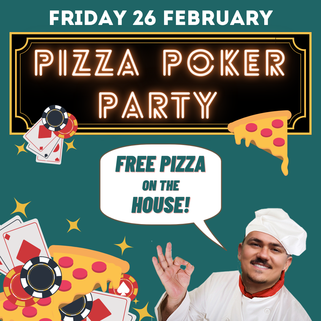 Free Pizza Borrel!