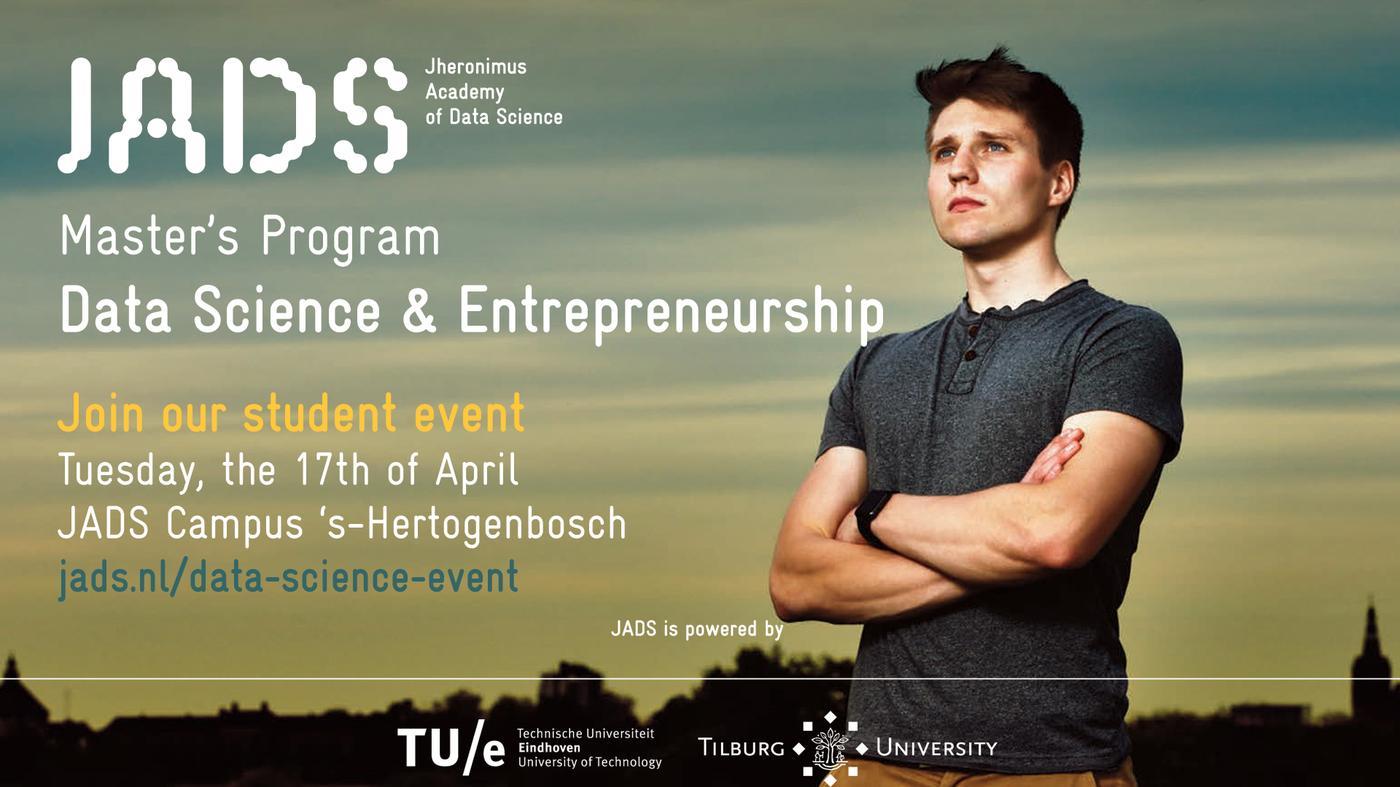 *sponsored* JADS Data Science Event