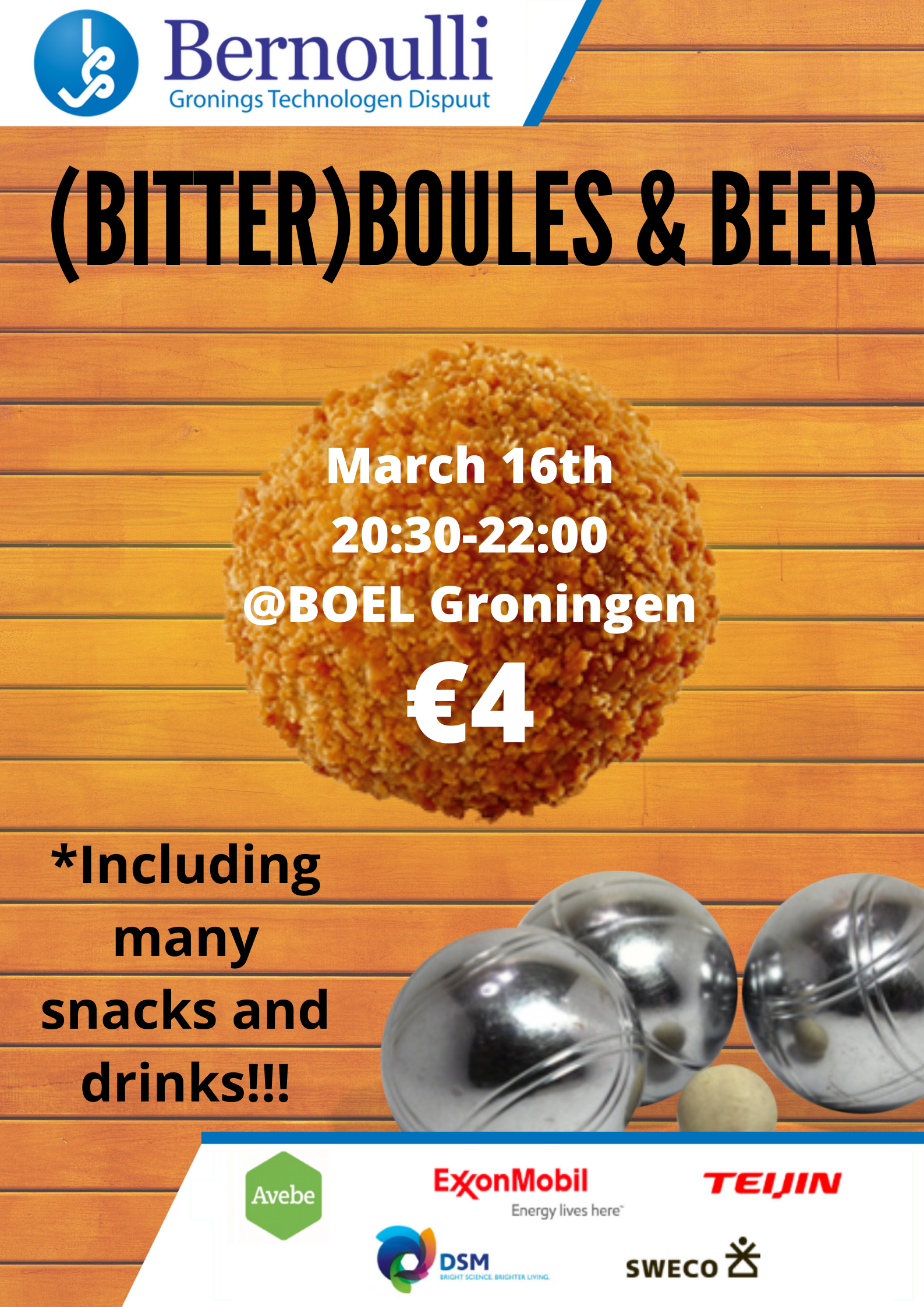 Cancelled - Boules and Beer